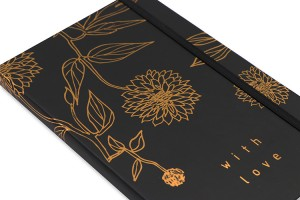 Hard Cover Notebook 128 x 203 _ black