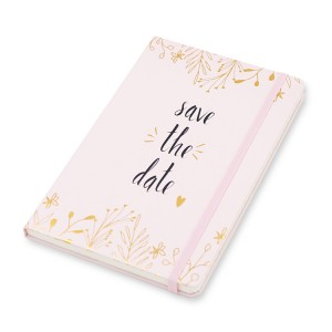 Hard Cover Notebook 128 x 203 _ pink