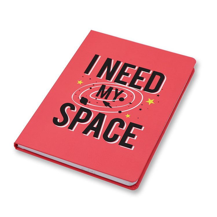 Hard Cover Casebound Notebook A5 _ Space Featured Image
