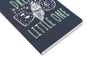 Soft Cover Notebook A5 _ Space