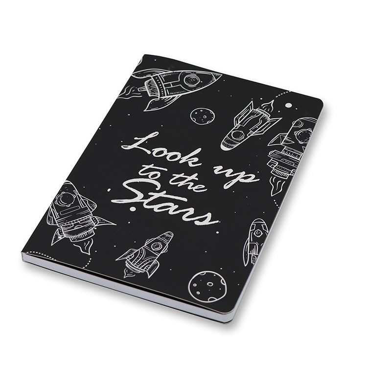Soft Cover Notebook A5 _ Space Featured Image
