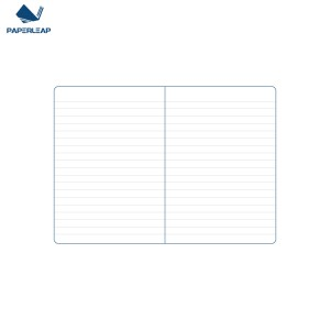 Notebook with PVC Sleeve 120 x 170 _ Space