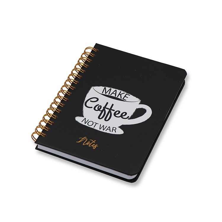 Hard Cover Notebook A6 _ black Featured Image