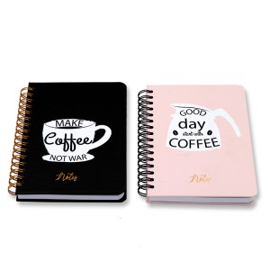 Hard Cover Notebook A6 _ black