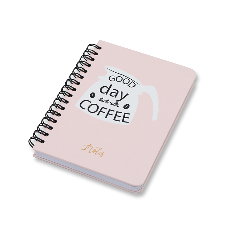 Hard Cover Notebook A6 _ pink Featured Image