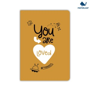 Soft Cover Kraft Notebook A5 _ Space